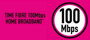 time fibre broadband home