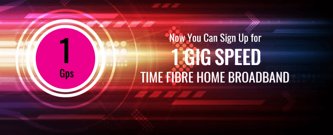 time fibre broadband internet 1gbps speed